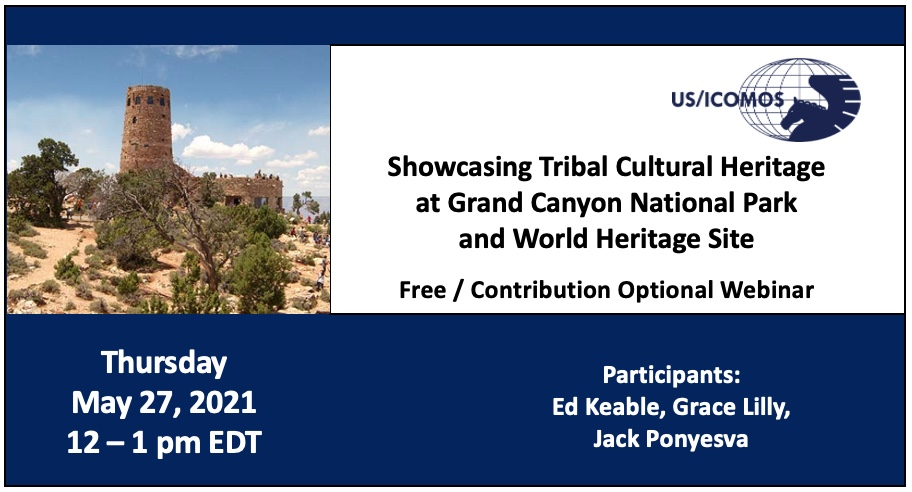 Showcasing Tribal Cultural Heritage at Grand Canyon National Park and World Heritage Site